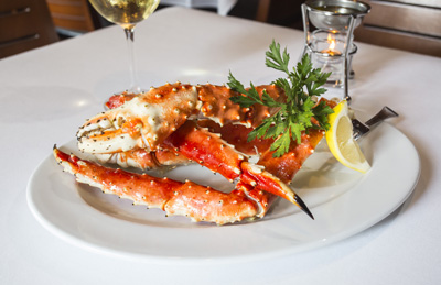 Ocean Prime Brings Back The First Catch Of Dutch Harbor Red King Crab This Fall